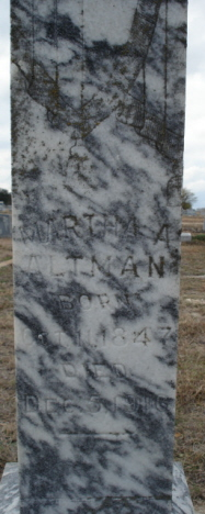 Martha Ann <i>Steele</i> Altman