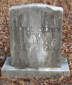 George Sidney Minor