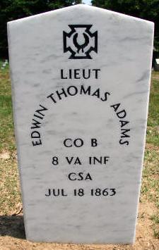 Lieut Edwin Thomas Adams