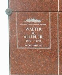 Walter A. Allen, Jr
