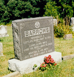 Martha Ann <i>Hooker</i> Barrows