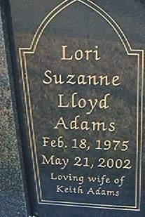 Lori Suzanne <i>Lloyd</i> Adams