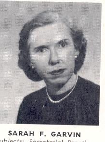 Sarah Frances Garvin