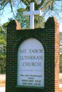 Mount Tabor Lutheran Church Cemetery
