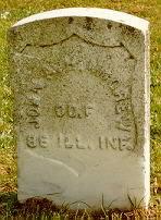 Pvt John A. <i>H.</i> McGrew