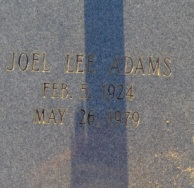 Joel Lee Adams