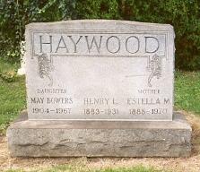 Mary Estella <i>Haywood</i> Bowers