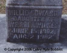 Willie Edward Wilkes