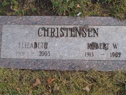 Betty Jane <i>Schmedel</i> Christensen