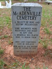 Old McAdenville Cemetery