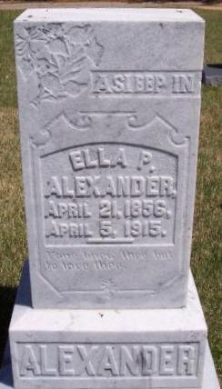 Ella Permelia <i>Alexander</i> Alexander