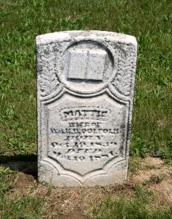 Martha Mattie <i>McKnight</i> Woolfolk