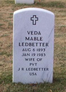 Veda Mable <i>Fraze</i> Ledbetter