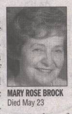 Mary Rose Brock