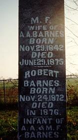 Mary Frances <i>Lee</i> Barnes