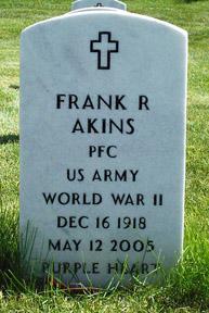 PFC Frank R. Akins