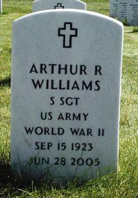 Sgt Arthur R. Williams
