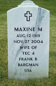 Maxine Marion <i>Scott</i> Bargman