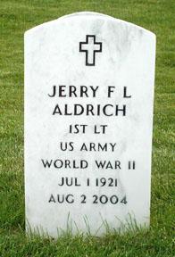 Lieut Jerry F.L. Aldrich