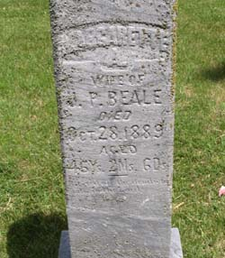 Margaret Margarette <i>Johnston</i> Beale