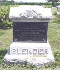 Edward Wilhelm Blender, Sr