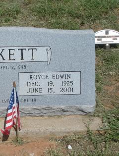 Royce Edwin Burkett
