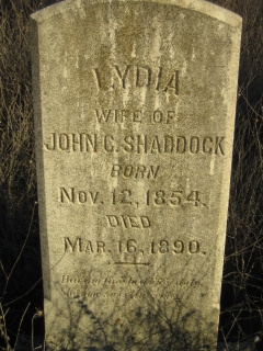 Lydia <i>Huffmaster</i> Shaddock