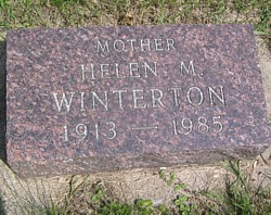 Helen M. <i>Knight</i> Winterton