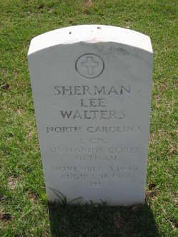 LCpl Sherman Lee Pops Walters