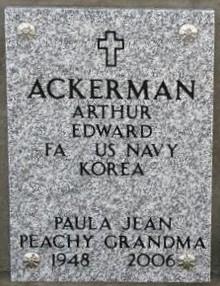 Paula Jean Peachy <i>Flock</i> Ackerman