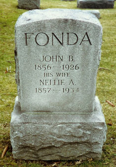 Nellie A. <i>Sheldon</i> Fonda