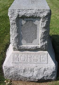 Rev Alfred Morse