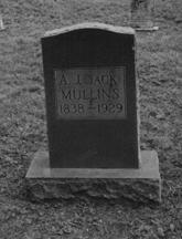 Andrew Jackson Black Jack Mullins