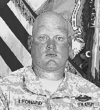 Spec Charles Earl Leonard, Jr