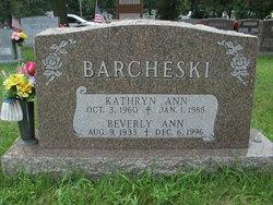 Beverly Ann <i>Thornburg</i> Barcheski