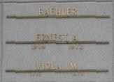 Viola M Baehler