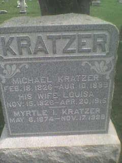 Louisa <i>Schnars</i> Kratzer