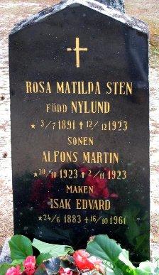 Isak Edvard Sten