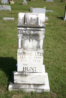 Robbie Lee <i>Johnson</i> Hunt