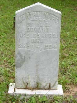 Martha Ann <i>Mealer</i> Cowart