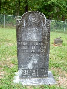 Sarah <i>Hoover</i> Beaty