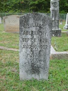 Julia C Abernathy