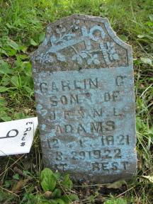 Garlin G Adams
