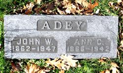 Ann <i>Creary</i> Adey