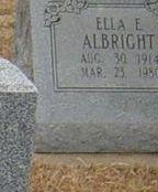 Ella E. Albright