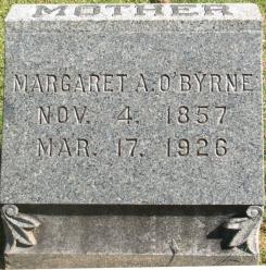 Margaret A. <i>Hayes</i> O'Byrne