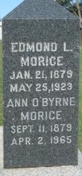 Ann <i>O'Byrne</i> Morice