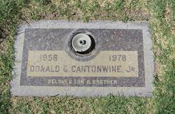 Donald G Cantonwine, Jr
