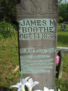 Sgt James Madison Matt Boothe