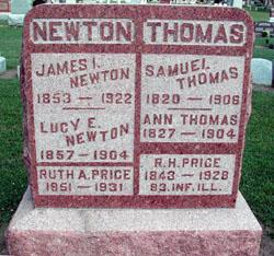 Lucy E. <i>Thomas</i> Newton